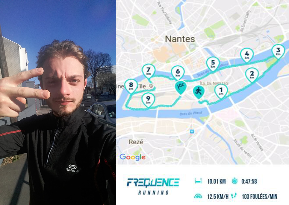 FREQUENCE Running test