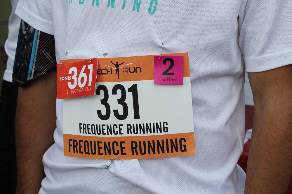Dossard Fréquence running