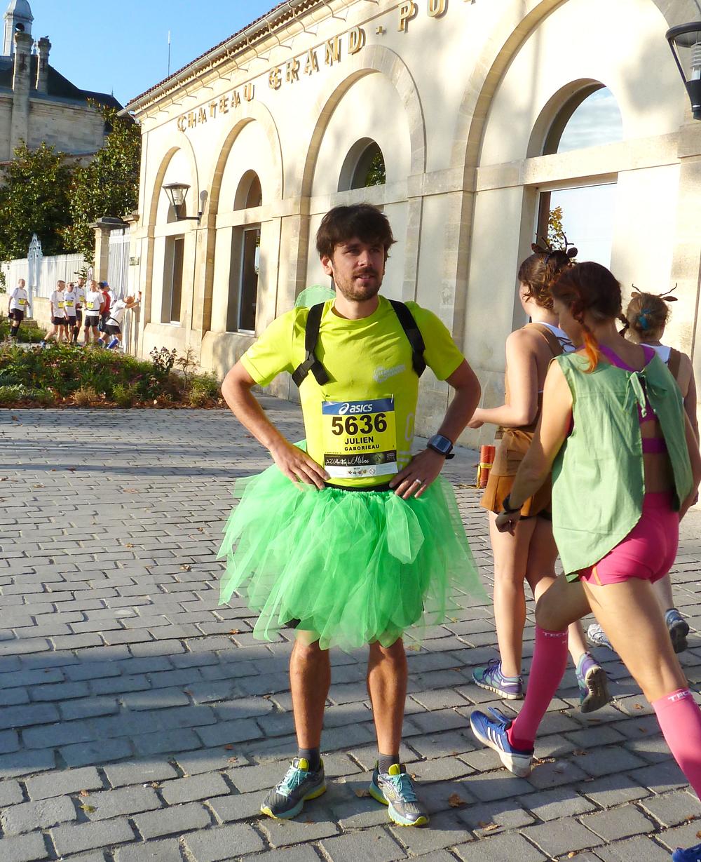 Julien marathon record