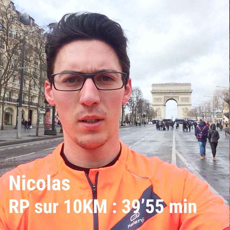 plan d'entraînement courir 10km