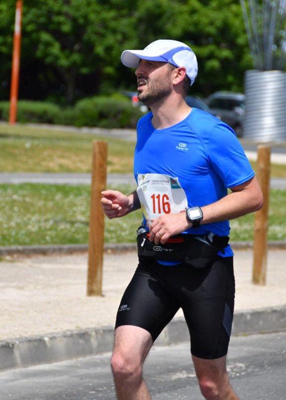 Renaud au marathon de Metz