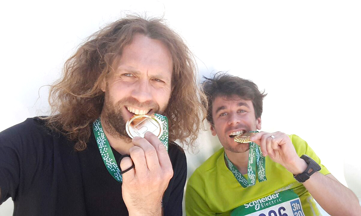 finishers Marathon Paris