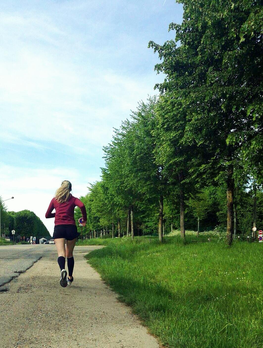 Julie prépare le Marathon de Nantes
