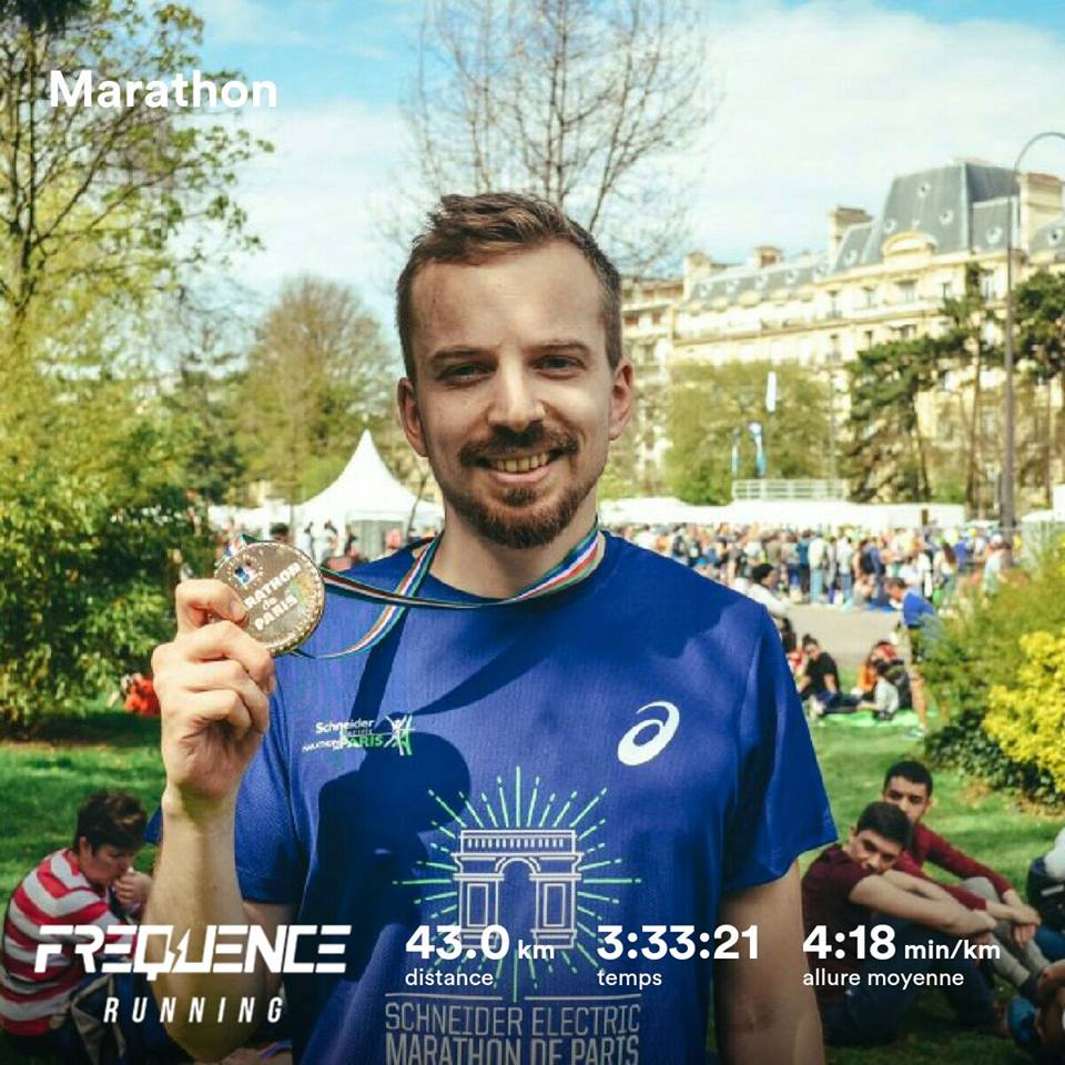 Anthony record marathon de Paris