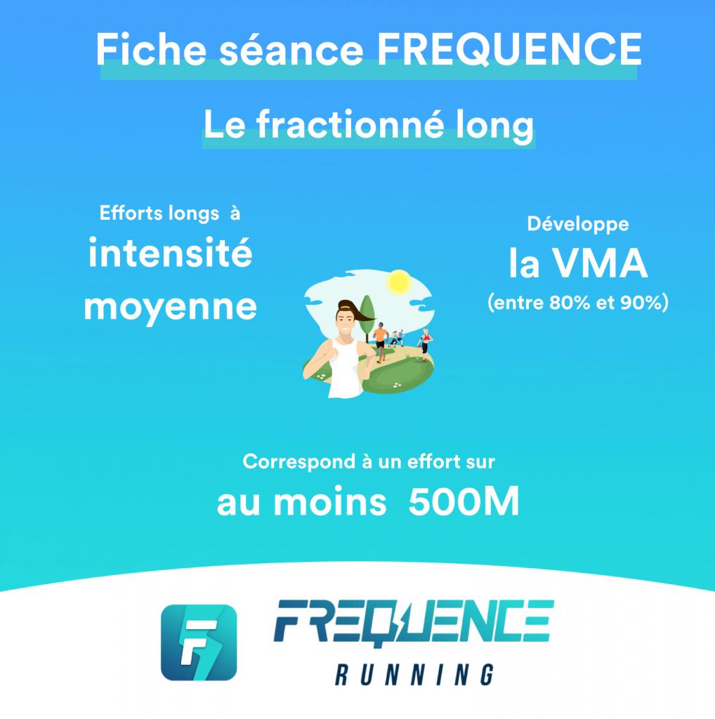 Fiche séance Le fractionné long