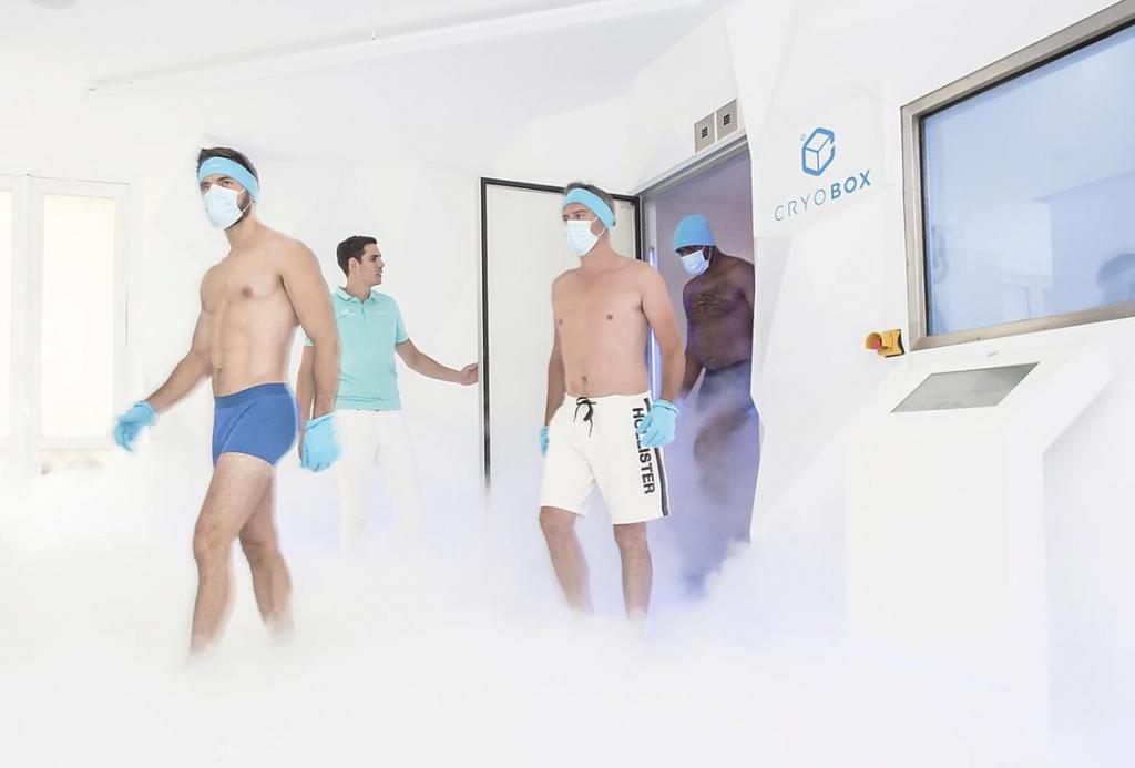 Chambre de cryothérapie